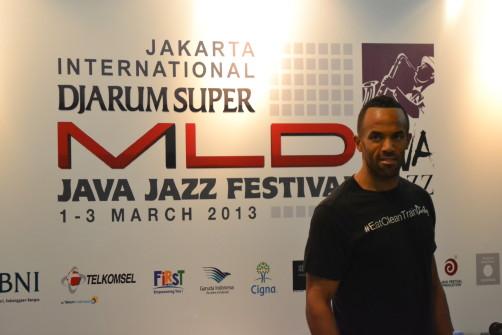 Craig David Press Conference JJF 2013