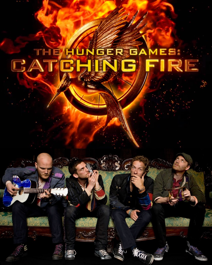 Coldplay Catching Fire