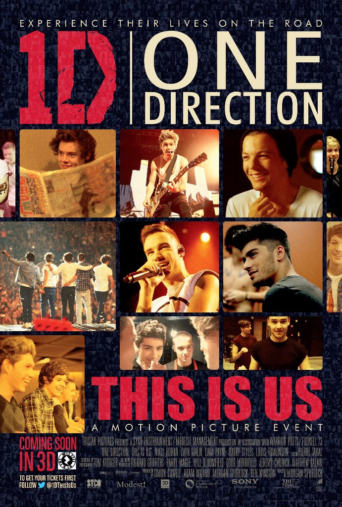 One Direction this Is Us Poster