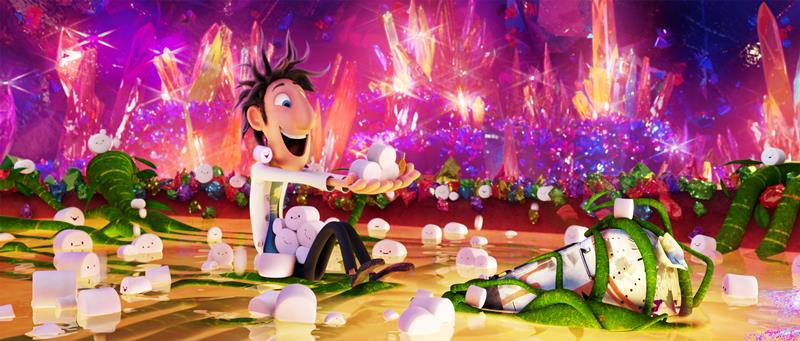 Flint (Bill Hader) in Sony Pictures Animation's CLOUDY WITH A CHANCE OF MEATBALLS 2.