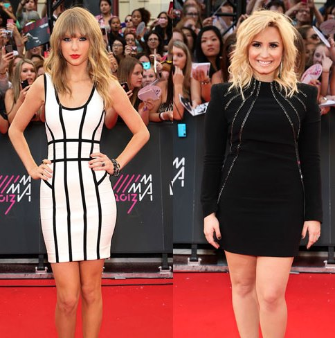 Taylor-Swift-Demi-Lovato-MMVA-2013 1