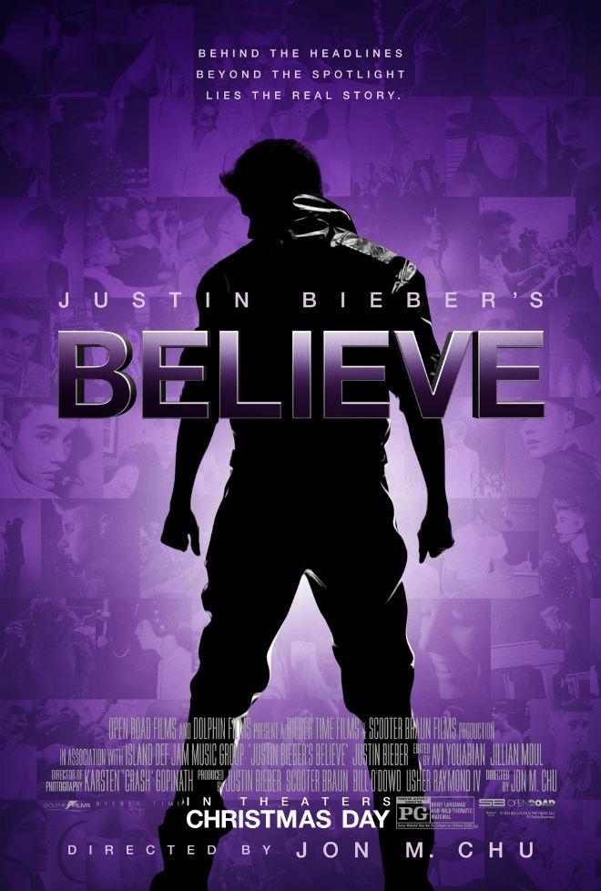 Justin Bieber Believe Movie Poster