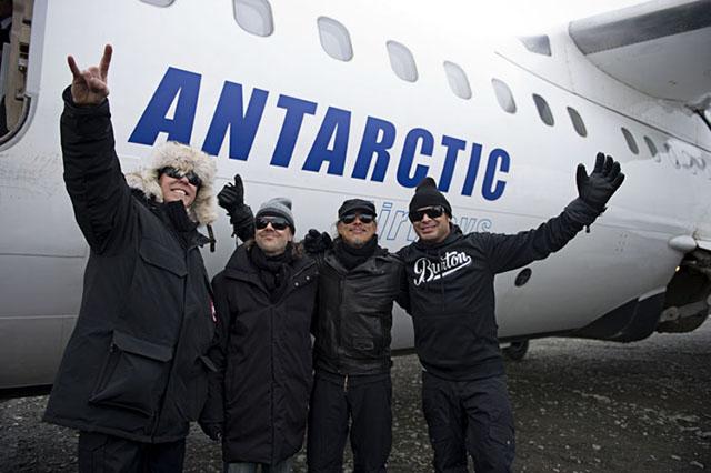 Metallica Antartica