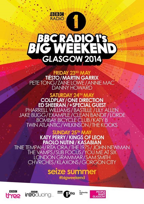 BBC_BigWeekend2014_lineup