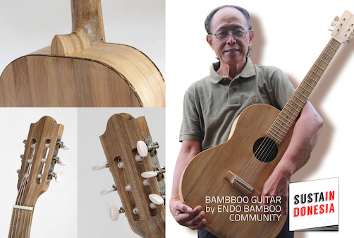 Bamboo Guitar by Endo Bamboo Community