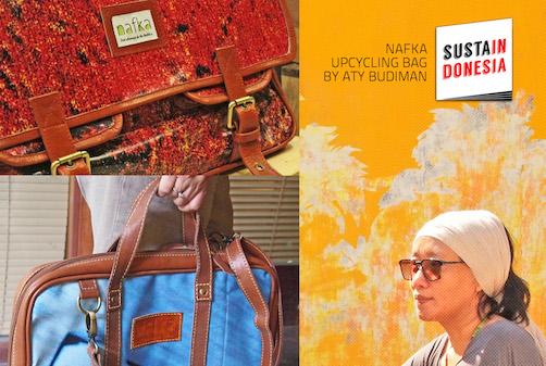 Nafka Upcycling Bag by Aty Budiman