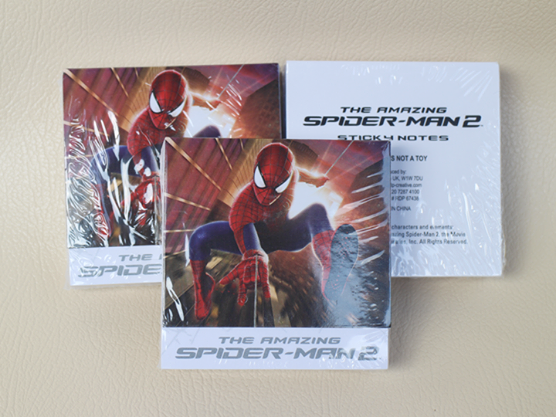 Official Merchandise Spiderman 2 Sitcky Note