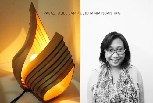 Palas Table Lamp by Ilhamia Nuantika