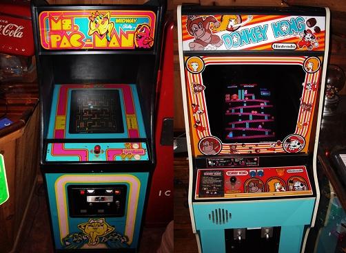 Ms._Pac-Man_&_Donkey_Kong_-_arcade_cabinets