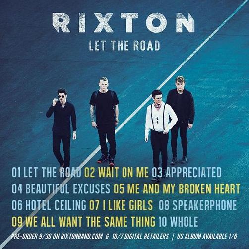 Rixton Album