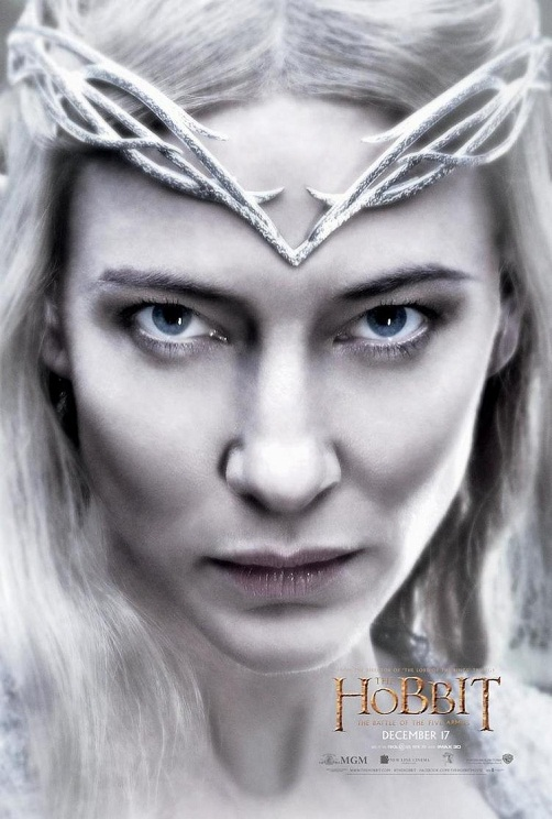 galadriel-graces-the-latest-poster-for-the-hobbit-the-battle-of-the-five-armies