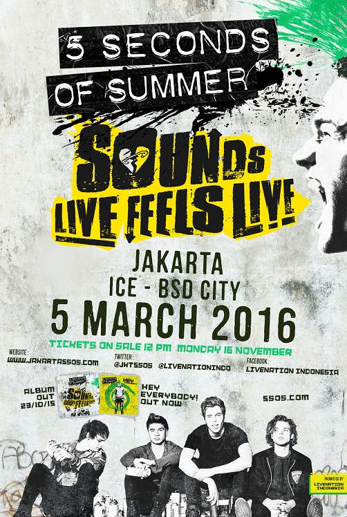 POSTER - 5SOS CONCERT