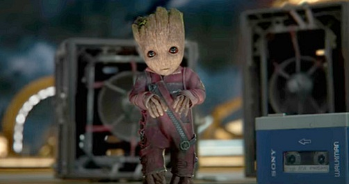 baby groot - guardians of the galaxy